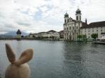 Sometimes, Switzerland architecture didn't look a whole lot like Switzerland.