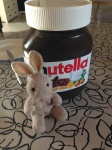 Nutella was awfully popular in Denmark. This thing was a tank!