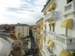 We arrived at our hotel in Sestri Levante later that afternoon.