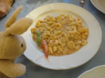 Went to El Pescador -  Mmmm GNOCCHI... and some dead animal.