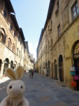We made our way from the coast of Italy on over to Tuscany. First we stopped at San Gimignamo.