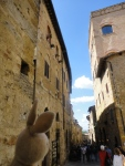 San Gimignano is a small walled medeival city in the heart of Siena. Architecture was pretty sweet!