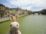 This is the Ponte Vecchio bridge -