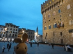 Florence was beautiful at night.