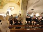A live polka band!