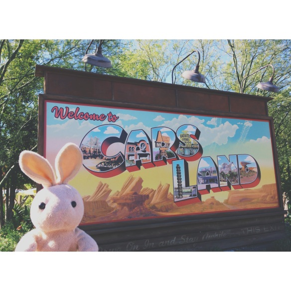 I started the day off in Cars Land - so much fun! The Radiator Springs Racers were fast (be sure to check out my video at the end)!